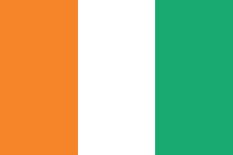 Image of Ivory Coast flag