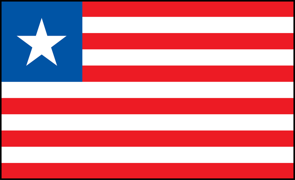 Image of Liberia flag