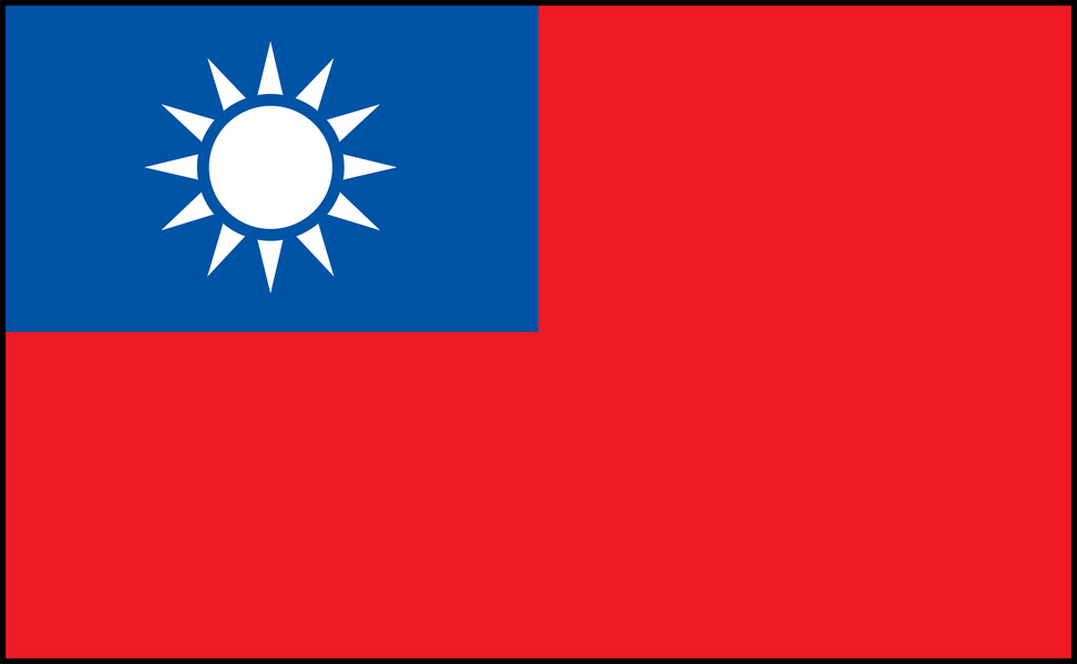 Image of Taiwan flag