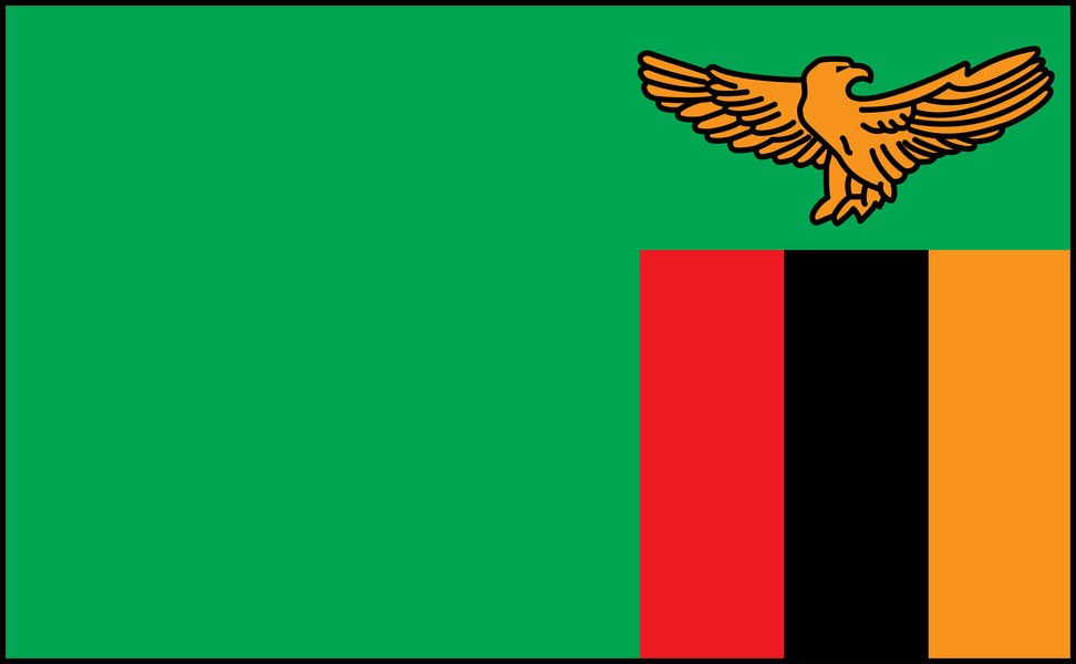 Image of Zambia flag